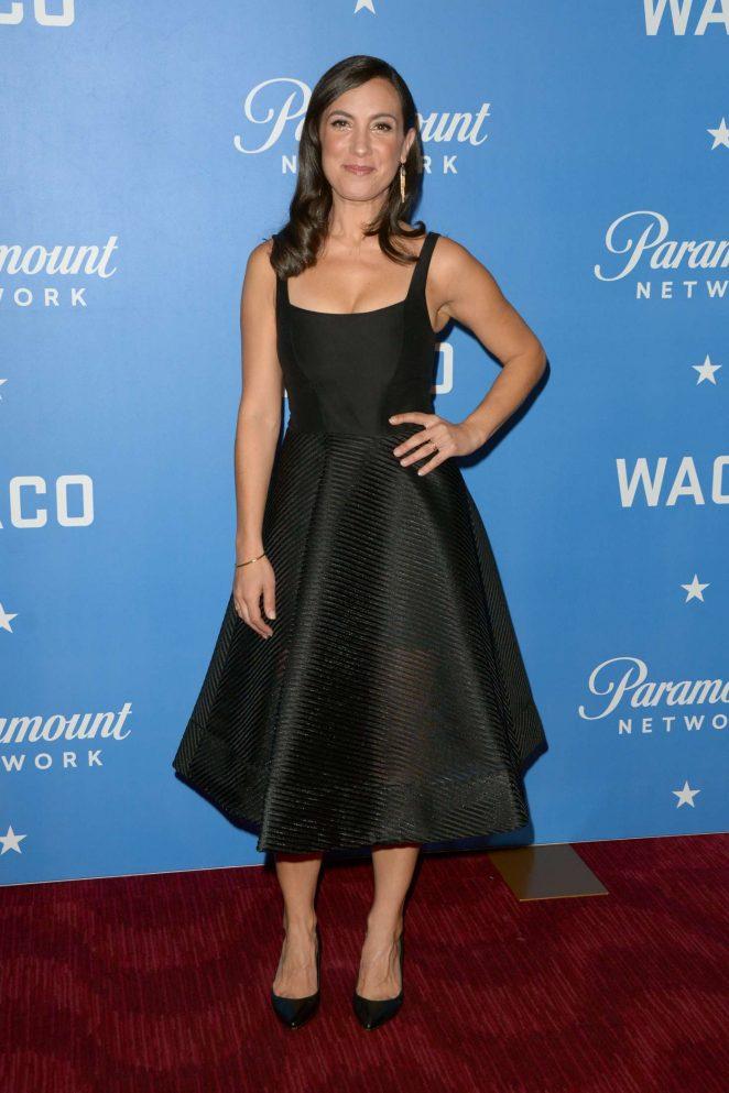 Annika Marks - 'WACO' Premiere in NYC