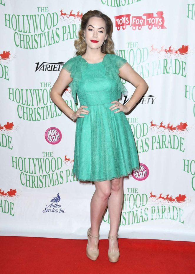 Annika Noelle - 87th Annual Hollywood Christmas Parade in LA