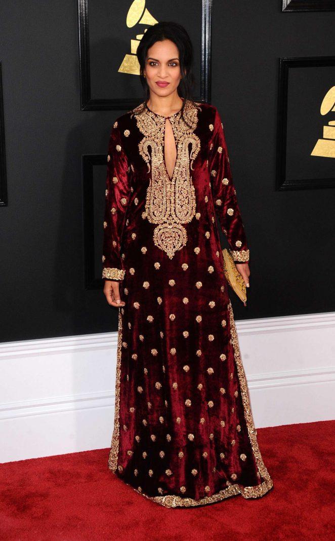 Anoushka Shankar - 59th GRAMMY Awards in Los Angeles
