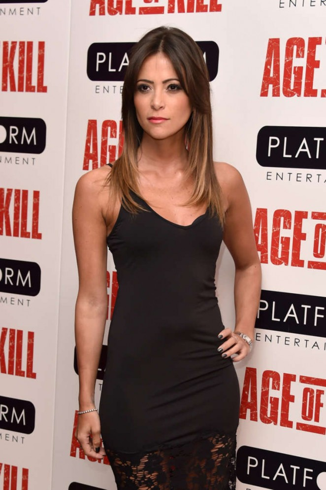 "Anouska Mond - ""Age Of Kill"" Premiere in London"