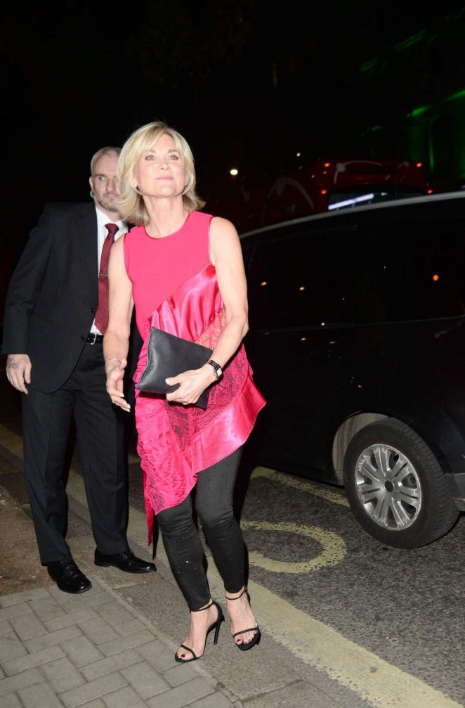 Anthea Turner - Arrives at The Best Heroes Awards in London