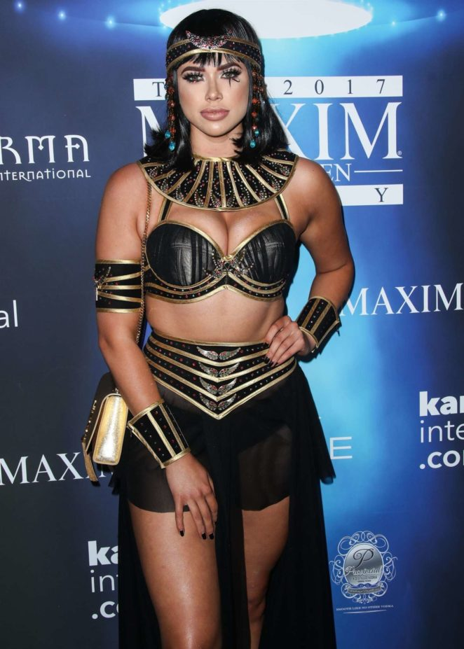 Antje Utgaard - 2017 Maxim Halloween Party in Los Angeles