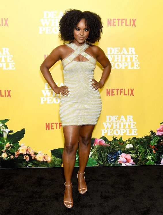 Antoinette Robertson - 'Dear White People' Season 3 Premiere in Los Angeles