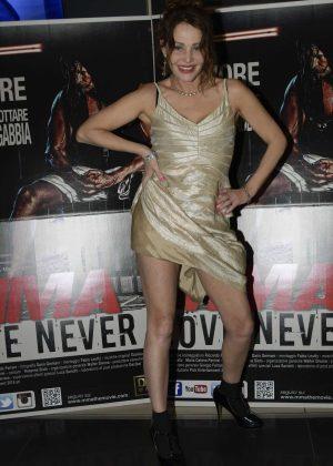Antonella Ponziani - 'MMA Love Never Dies' Premiere in Rome