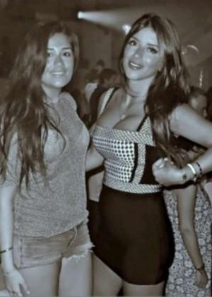 Antonella Roccuzzo and Daniella Semaan: Wearing bikinis-03