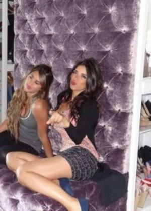 Antonella Roccuzzo and Daniella Semaan: Wearing bikinis-04