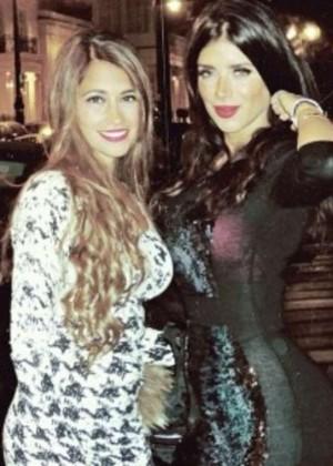 Antonella Roccuzzo and Daniella Semaan: Wearing bikinis-08