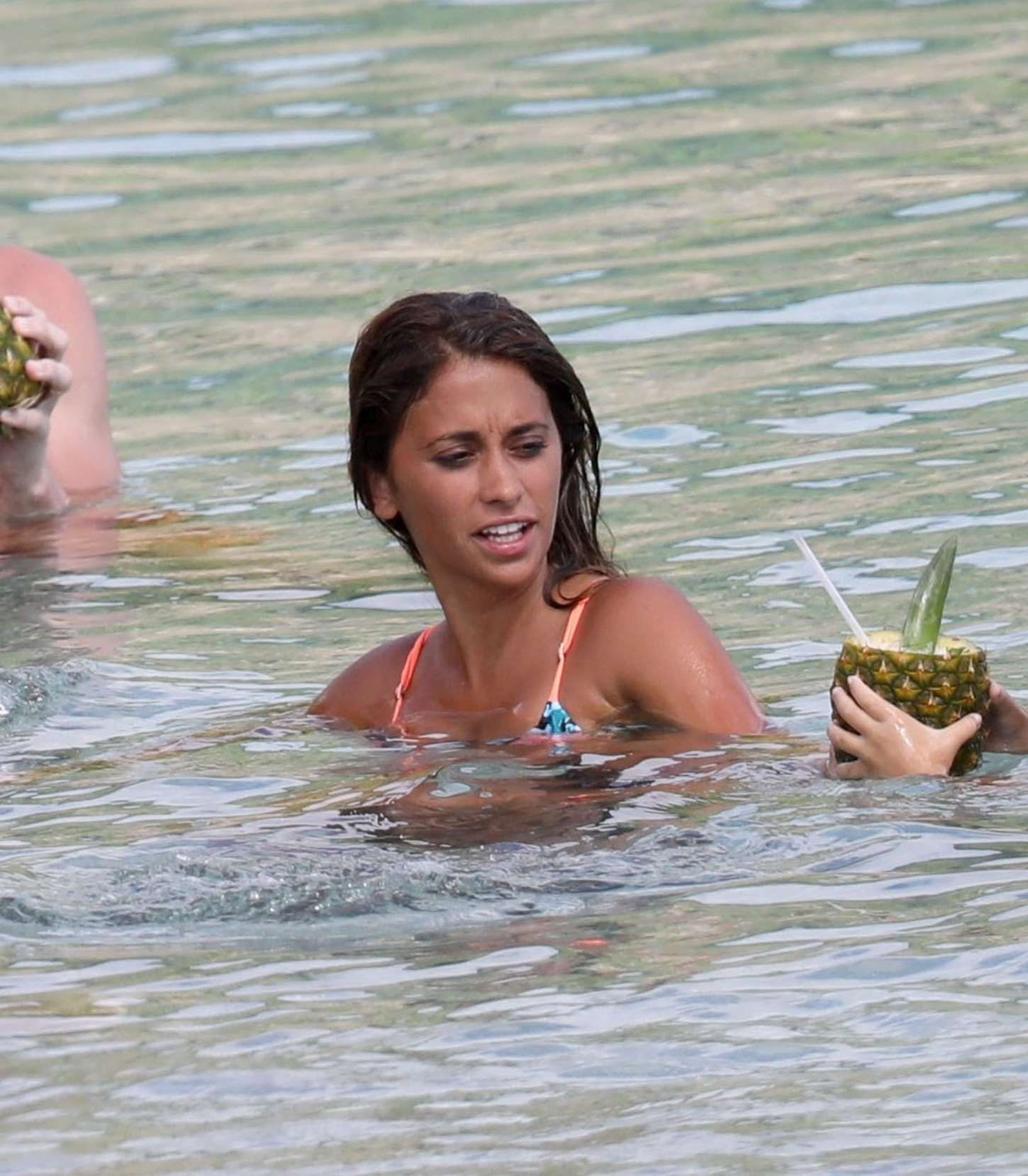 Antonella Roccuzzo 2017 : Antonella Roccuzzo: Bikini in Antigua-12