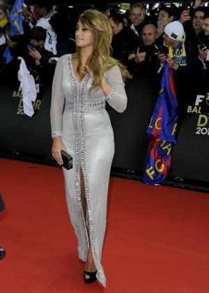 Antonella Roccuzzo - FIFA Ballon dOr Gala 2015 -05