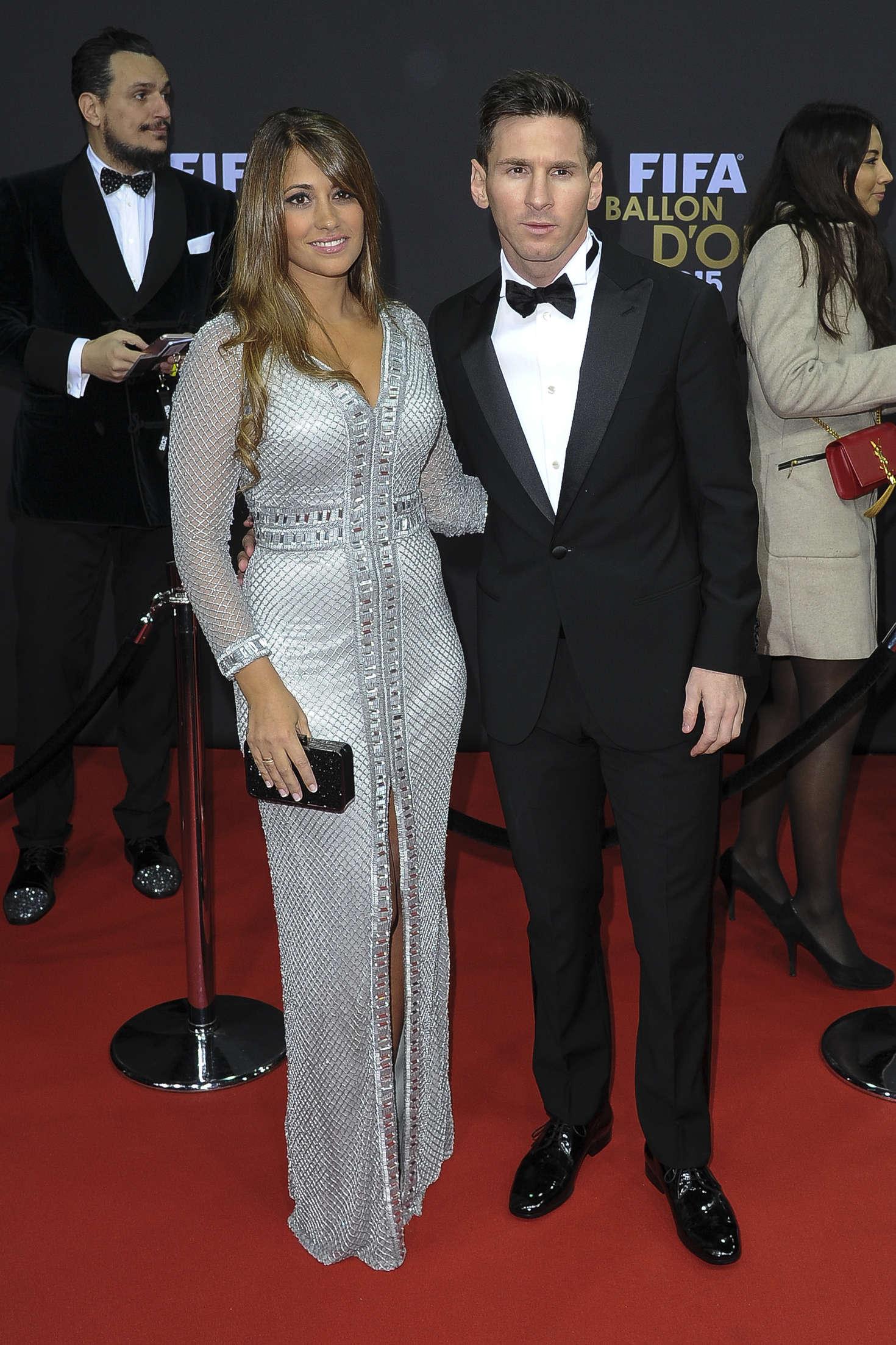 Antonella Roccuzzo 2016 : Antonella Roccuzzo – FIFA Ballon dOr Gala 2015 -09