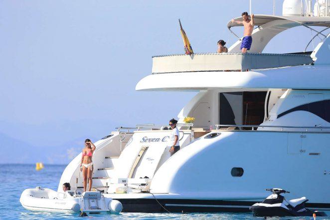 Antonella Roccuzzo pics: bikini 2016 in Ibiza-30