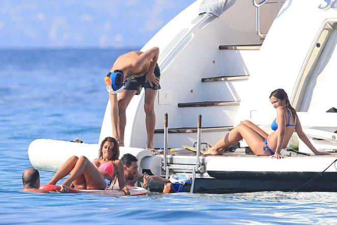 Antonella Roccuzzo pics: bikini 2016 in Ibiza-34