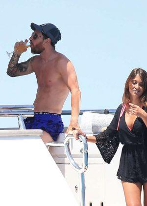 Antonella Roccuzzo on holiday in Ibiza -05