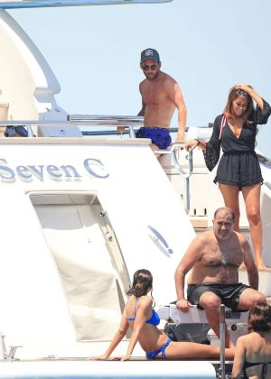 Antonella Roccuzzo on holiday in Ibiza -09