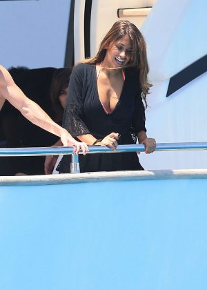 Antonella Roccuzzo on holiday in Ibiza -11