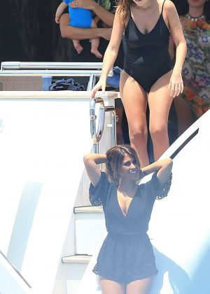 Antonella Roccuzzo on holiday in Ibiza -16