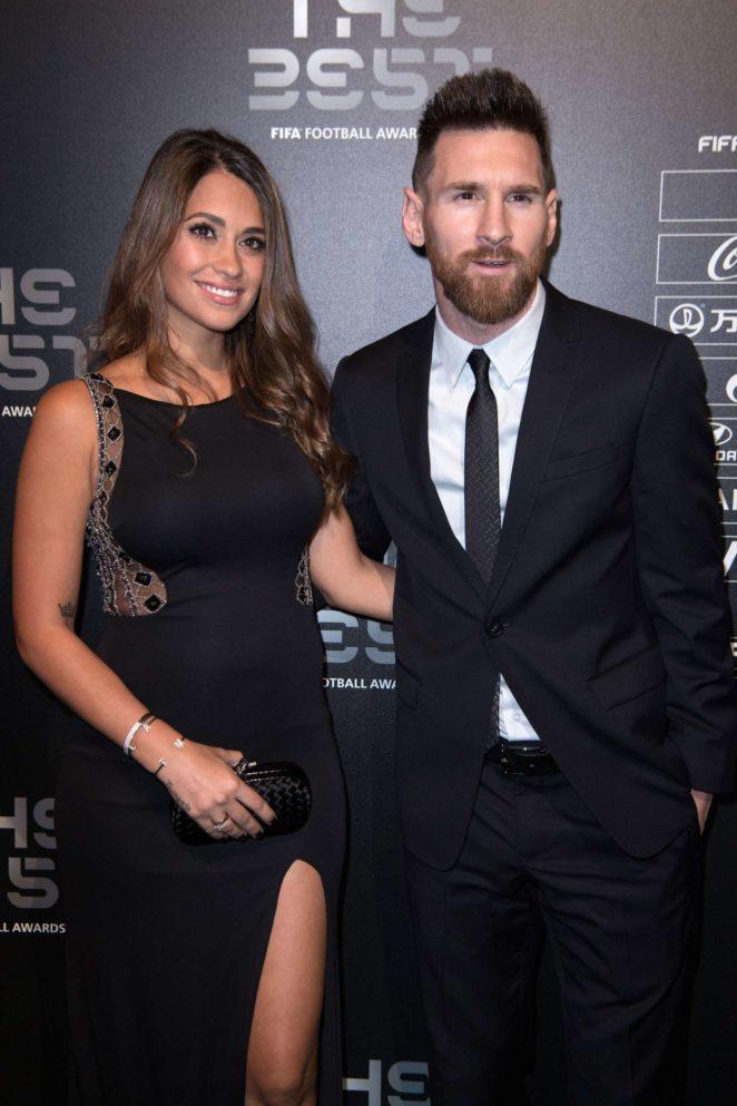 Antonella Roccuzzo - The Best FIFA Football Awards 2017 in London