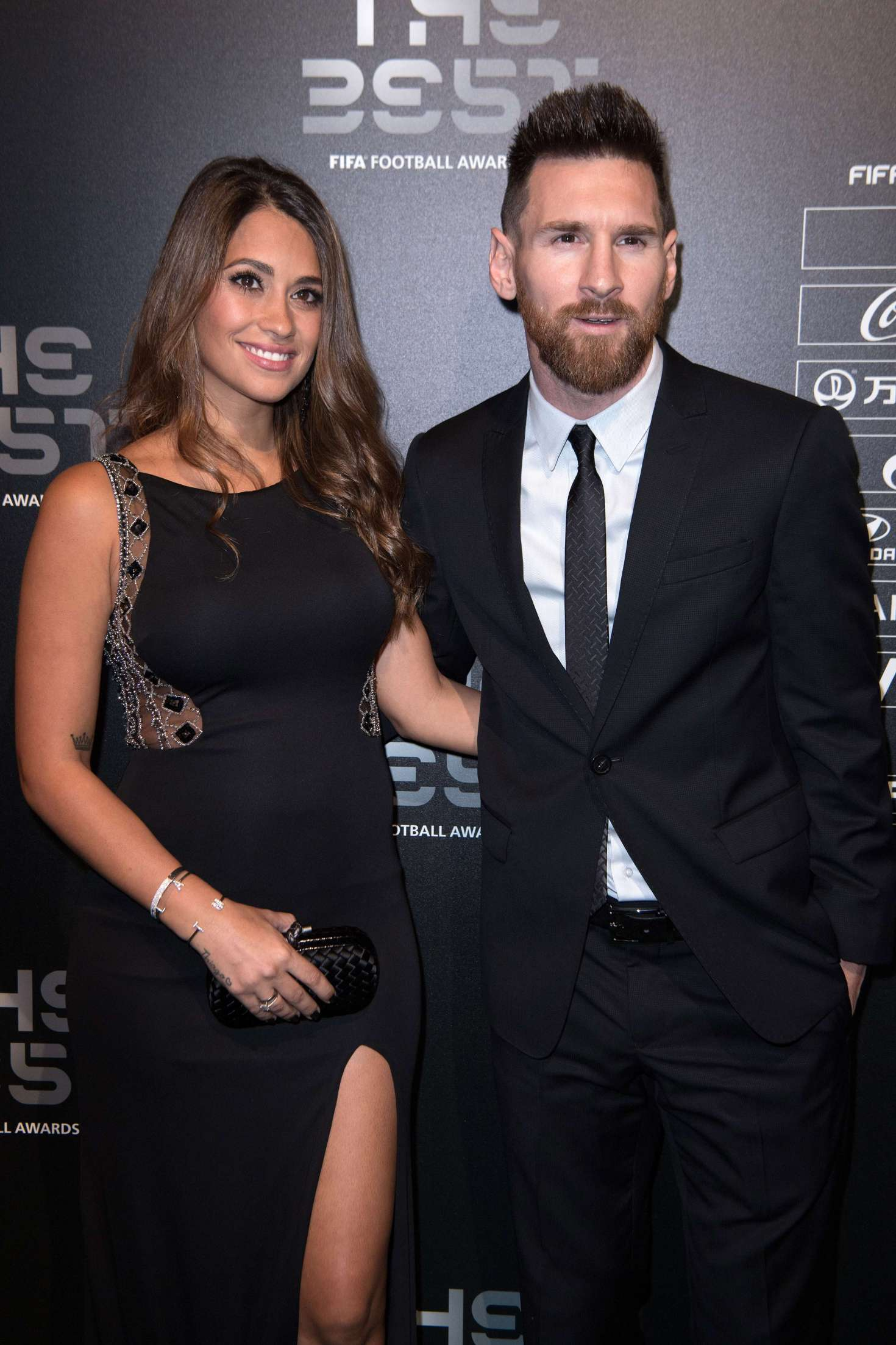 Antonella Roccuzzo - The Best FIFA Football Awards 2017 in London