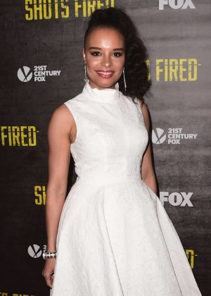 Antonique Smith - 'Shots Fired' TV Series Premiere in Los Angeles
