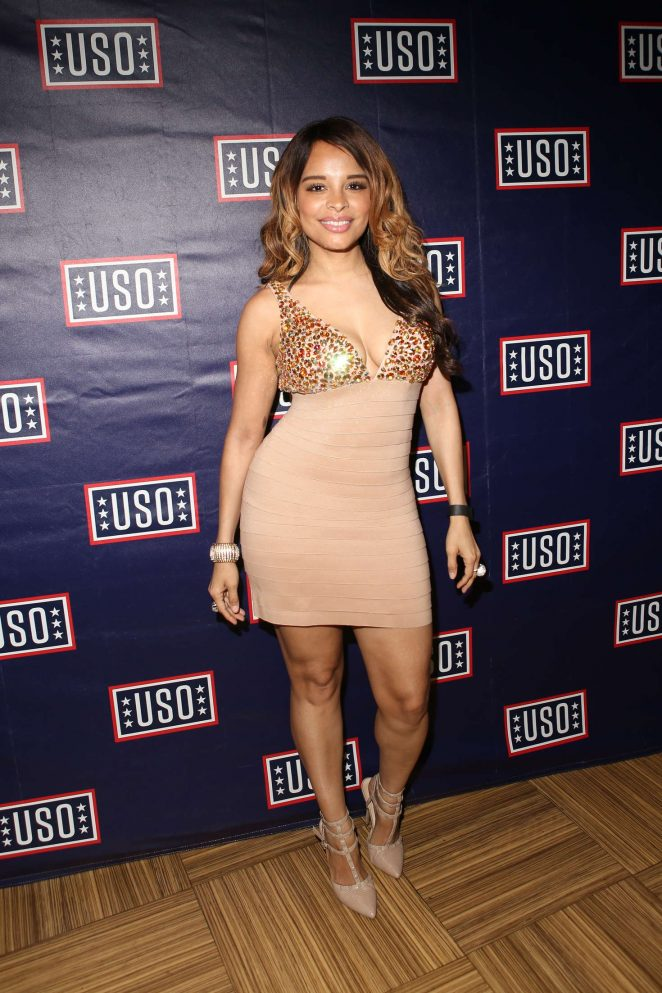 Antonique Smith - USO and Hard Rock Cafe Fleet Week in New York