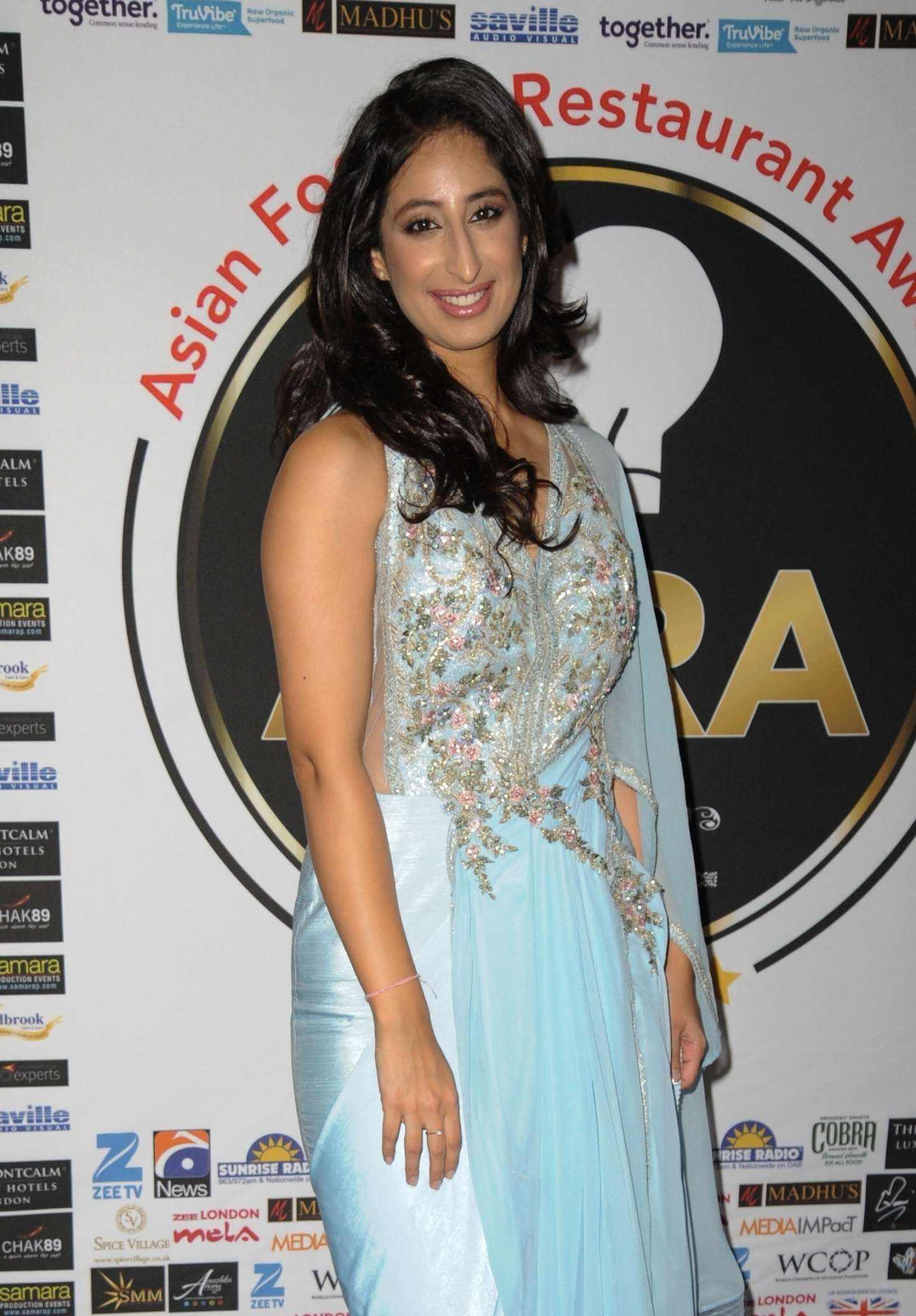 anushka arora - the first annual asian food and restaurant awards