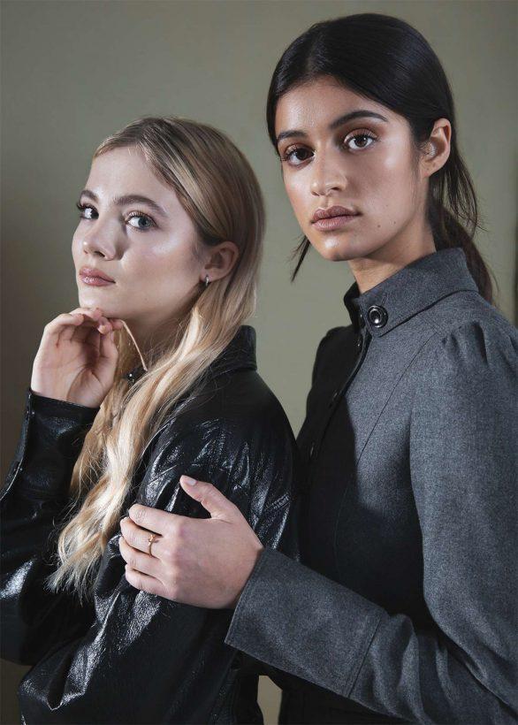 Anya Chalotra and Freya Allan - Hollywood Life Portraits (December 2019)