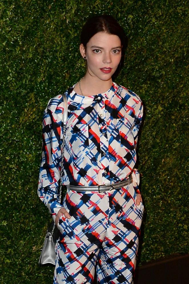 Anya Taylor-Joy - 2016 Chanel Tribeca Film Festival Artists Dinner in NY