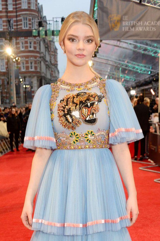Anya Taylor-Joy - 2017 British Academy Film Awards in London