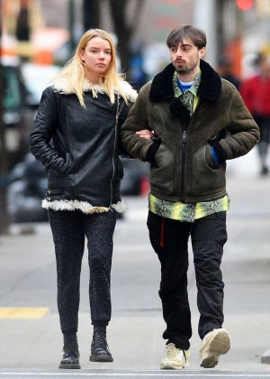 Anya Taylor-Joy and Eoin Macken - Out in New York City