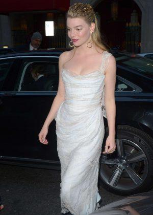 Anya Taylor-Joy - Arrives at 39th London Critics' Circle Choice Awards in London