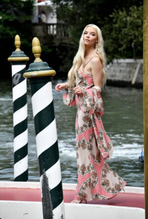 Anya Taylor-Joy - arrives at the 78th Venice Film Festival in Venice