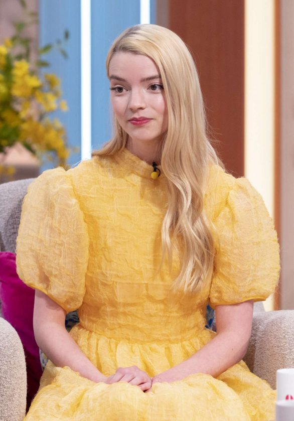 Anya Taylor-Joy - At 'Lorraine' TV Show in London