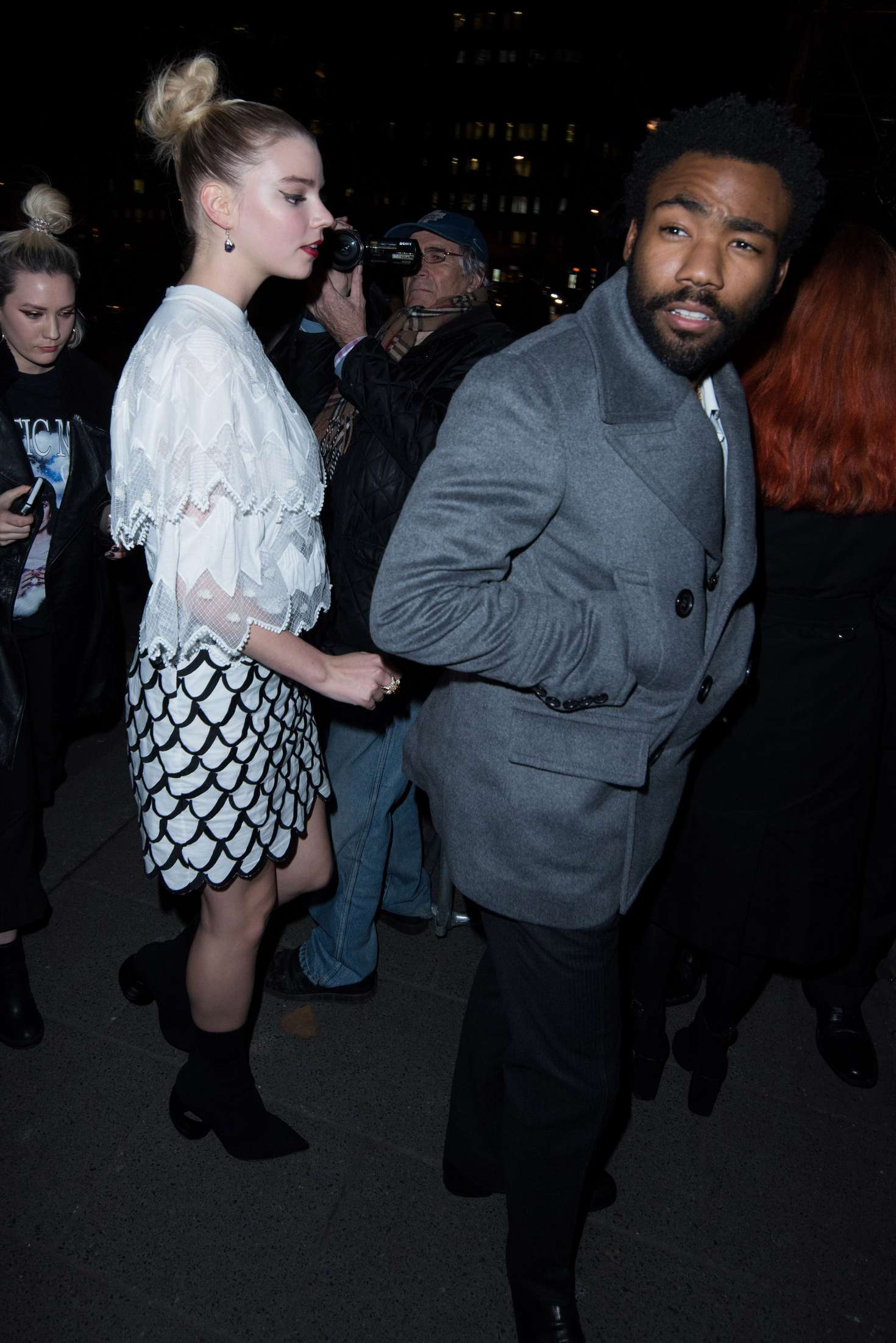 Anya Taylor-Joy at LOVE and Burberry LFW After-Party in London