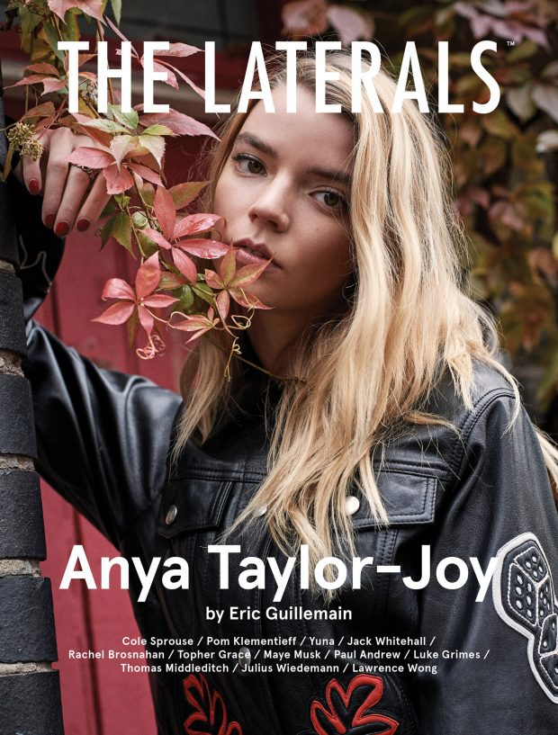 Anya Taylor-Joy by Eric Guillemain Photoshoot for The Laterals 2019
