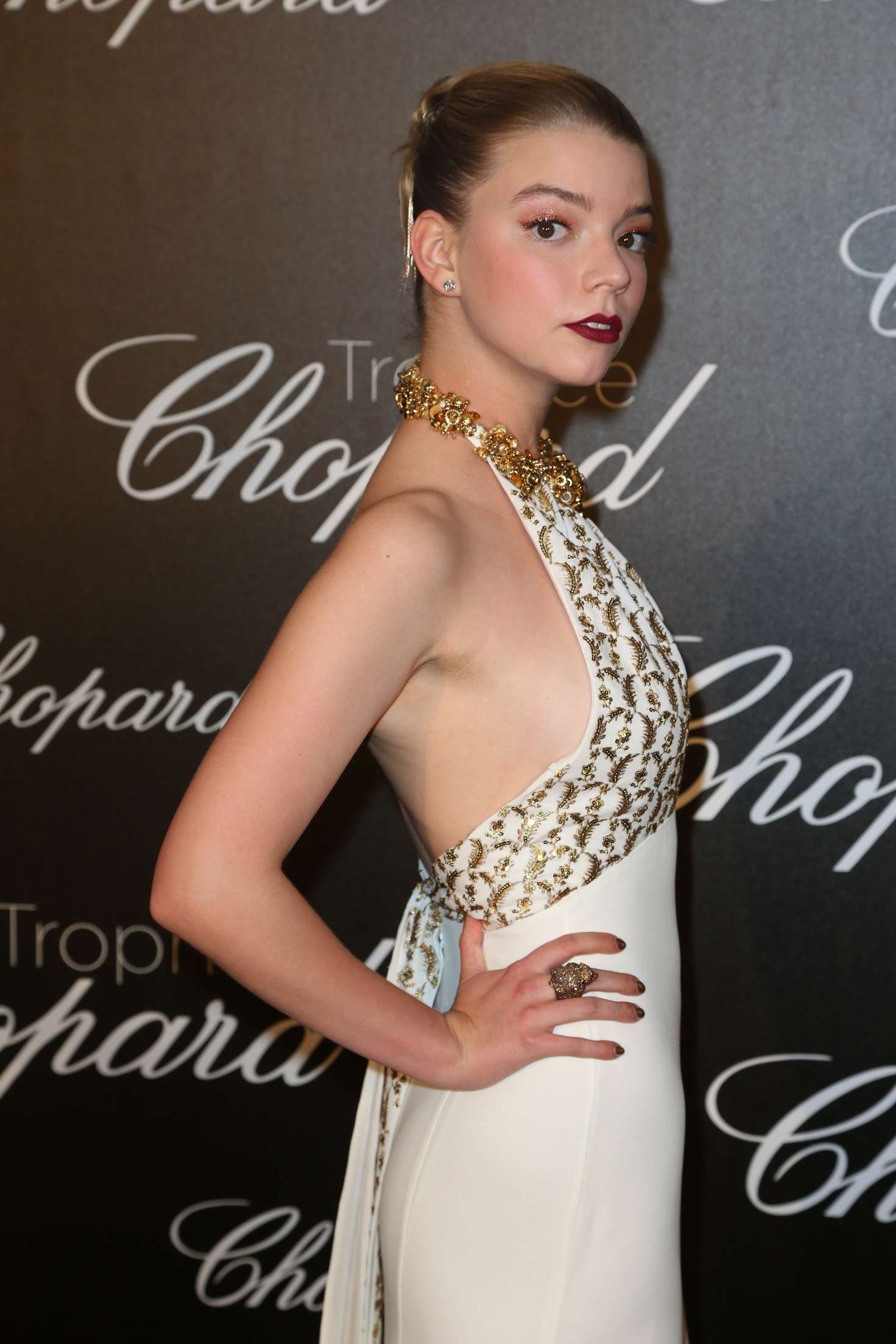 Anya Taylor-Joy - Chopard Trophee Event at 70th Cannes Film Festival