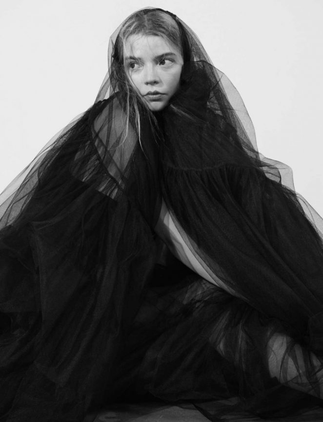 Anya Taylor-Joy - Dazed Magazine (Winter 2018)
