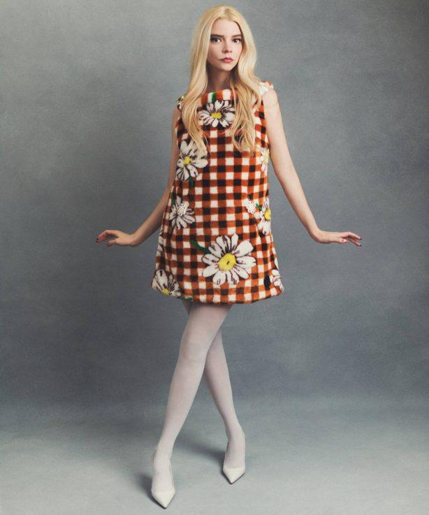 Anya Taylor-Joy - DuJour photoshoot (October 2020)