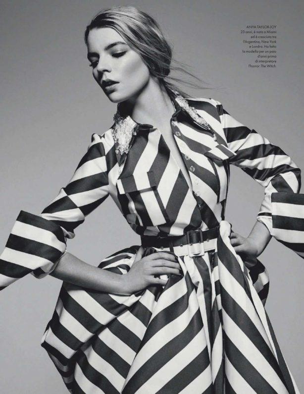 Anya Taylor-Joy - Elle Italy Magazine (April 2020)