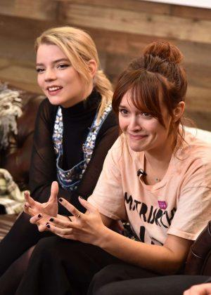 Anya Taylor-Joy & Olivia Cooke - Variety Studio at 2017 Sundance Day 2 in Utah