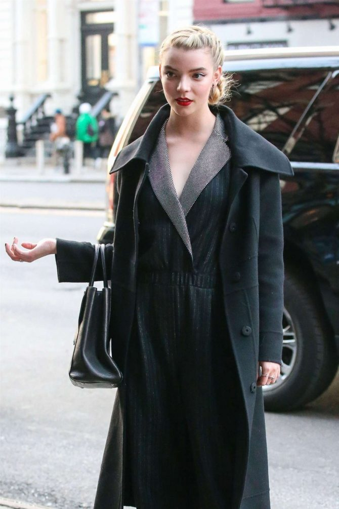 Anya Taylor-Joy - Out and about in NY