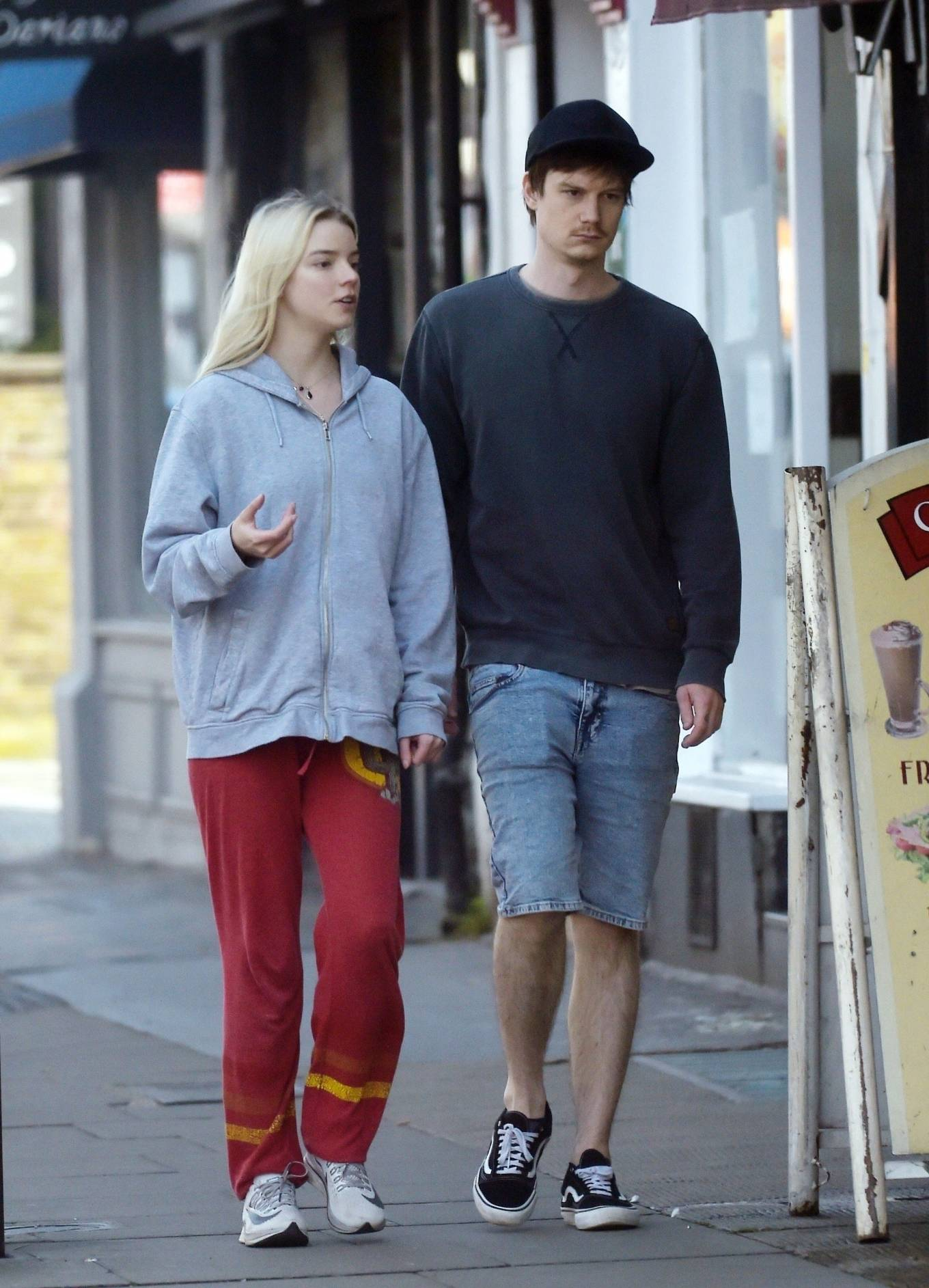 Anya Taylor-Joy - Out in London