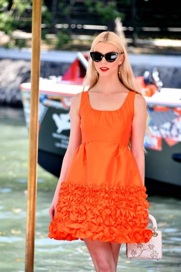 Anya Taylor-Joy - Pictured in Venice
