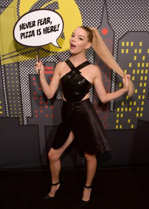 Anya Taylor-Joy - Pizza Hut Lounge at 2018 Comic-Con in San Diego