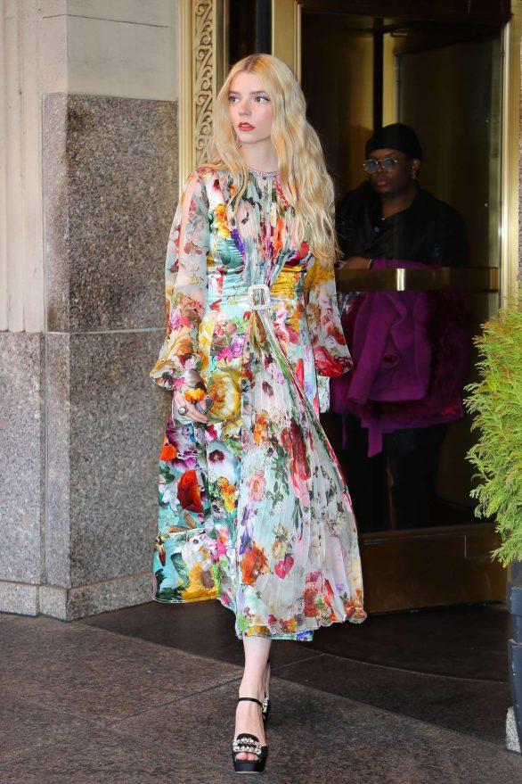 Anya Taylor-Joy - Promoting her new movie 'Emma' at Good Morning America in NewYork