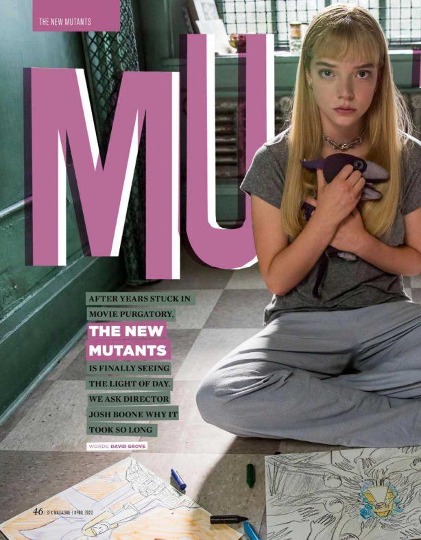 Anya Taylor-Joy - SFX Magazine (April 2020)