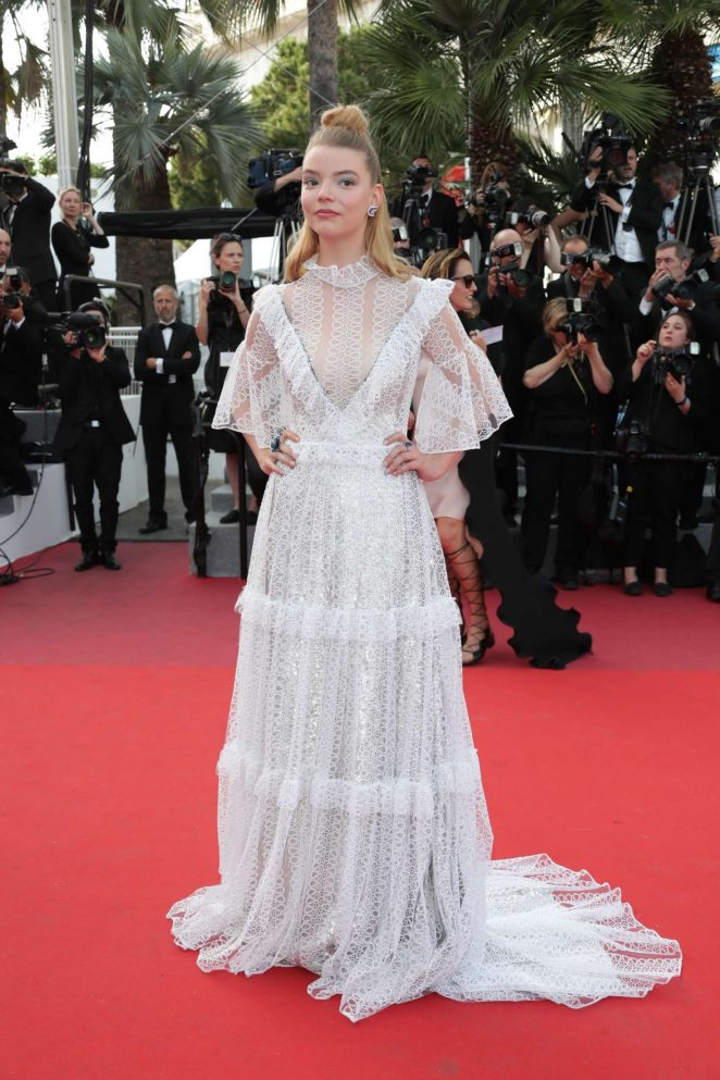 Anya Taylor-Joy - 'The Meyerowitz Stories' Premiere at 70th Cannes Film Festival
