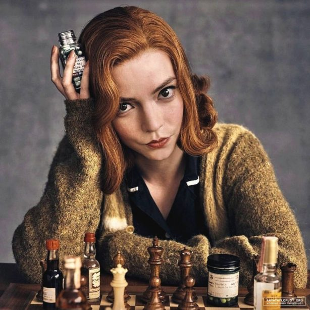 Anya Taylor-Joy - The Queen's Gambit Promos