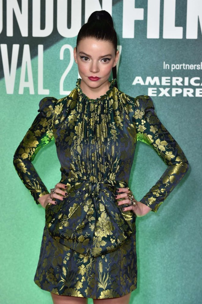 Anya Taylor-Joy - 'Thoroughbreds' Premiere at 61st BFI London Film Festival in London