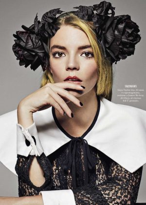 Anya Taylor-Joy - Vanity Fair Italy Magazine (January 2019)