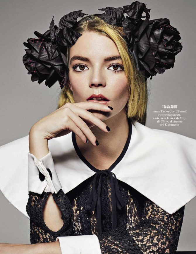Anya Taylor-Joy - Vanity Fair Italy Magazine (January 2019)